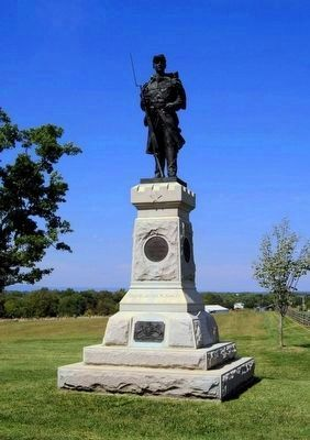 124th Pennsylvania Volunteer Infantry Monument image. Click for full size.