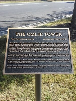 The Omlie Tower Marker image. Click for full size.