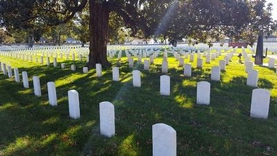 Richmond National Cemetery image. Click for full size.