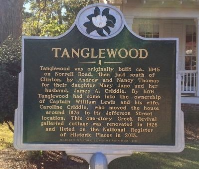 Tanglewood Marker image. Click for full size.