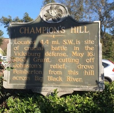 Champion's Hill Marker image. Click for full size.