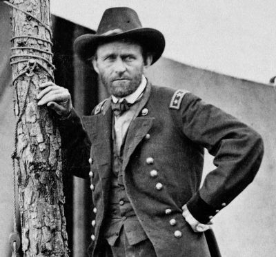 Union General Ulysses S. Grant image. Click for full size.