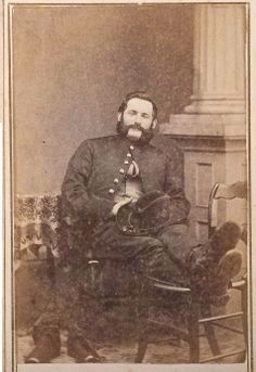 Captain Albert Buxton (1827-1864) image. Click for full size.