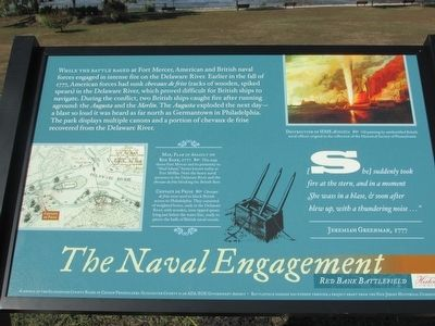 The Naval Engagement Marker image. Click for full size.