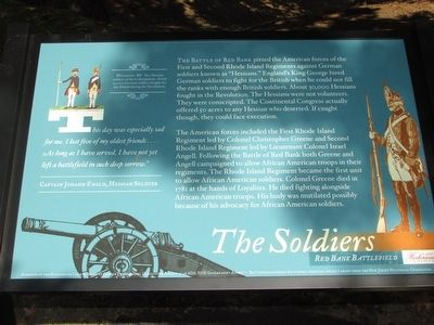 The Soldiers Marker image. Click for full size.