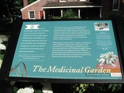 The Medicinal Garden Marker image. Click for full size.