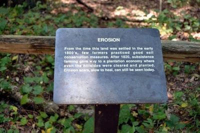 Erosion Interpretive Sign image. Click for full size.