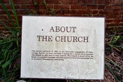 About the Church Interpretive Sign image. Click for full size.