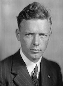 Charles A. Lindbergh image. Click for full size.