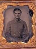 Captain Ike Turner<br>Commander, 5th Texas Infantry image. Click for full size.