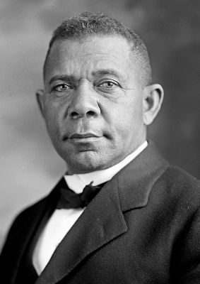 Dr. Booker Taliaferro Washington image. Click for full size.
