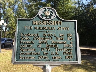 Mississippi Marker image. Click for full size.