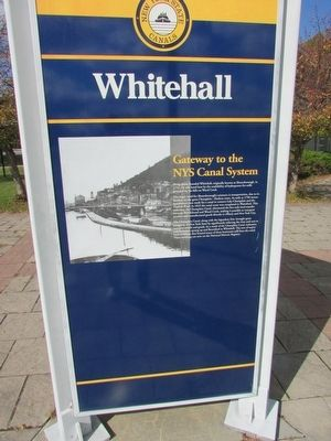 Whitehall Marker image. Click for full size.