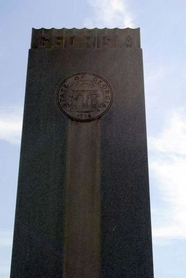 Georgia Confederate Soldiers Monument image. Click for full size.