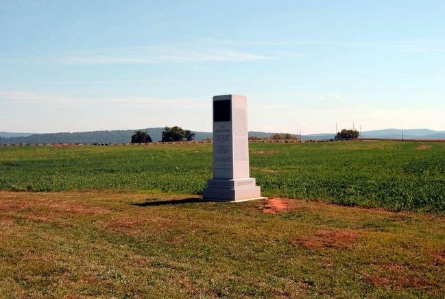 11th Mississippi Infantry Regiment Monument image. Click for full size.