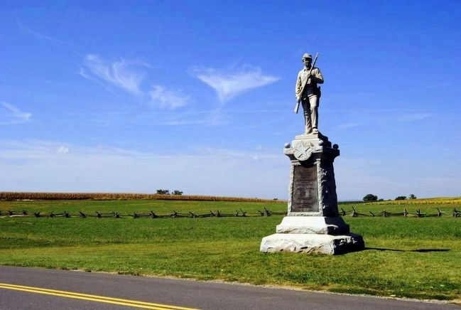 128th Pennsylvania Volunteer Infantry Monument image. Click for full size.