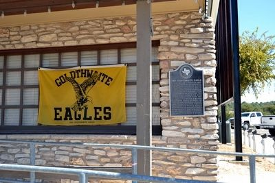 The Goldthwaite Eagle Marker image. Click for full size.