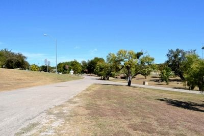Marker in Goldthwaite City Park image. Click for full size.
