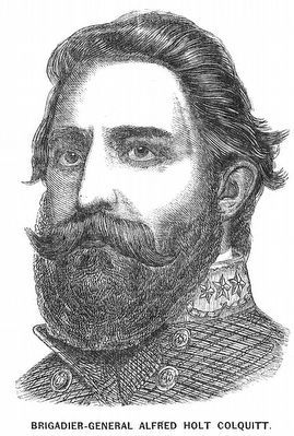 Brig. General Alfred Holt Colquitt (1824-1894) image. Click for full size.
