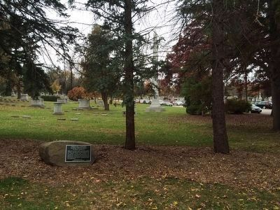 Forest Hill Cemetery & Effigy Mound Group Marker image. Click for full size.