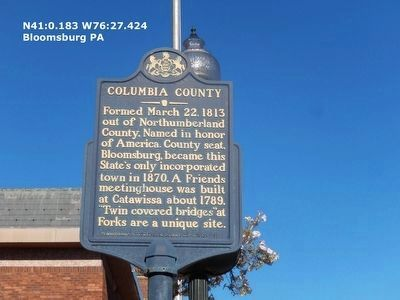 Columbia County Courthouse image. Click for full size.