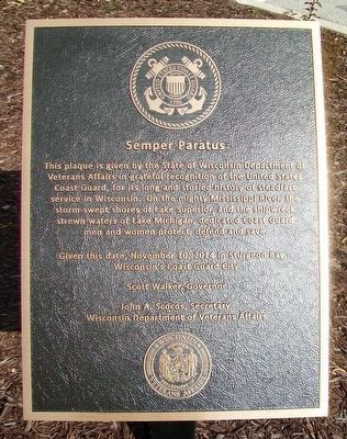 Semper Paratus Marker image. Click for full size.