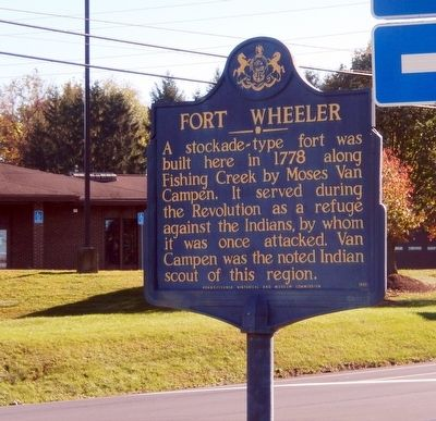 Fort Wheeler Marker image. Click for full size.