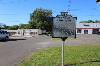 Camp Davis Marker image. Click for full size.
