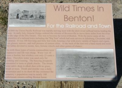 Wild Times In Benton! Marker image. Click for full size.