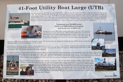 41-Foot Utility Boat Large (UTB) Marker image. Click for full size.