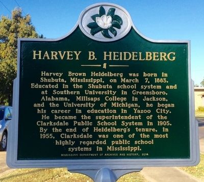 Harvey B. Heidelberg Marker image. Click for full size.
