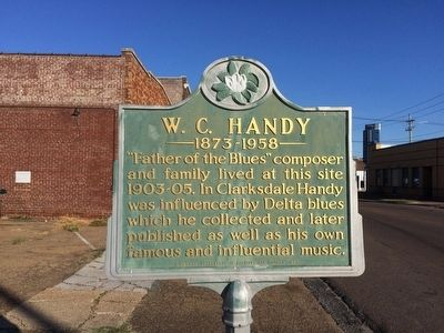 W. C. Handy Marker image. Click for full size.