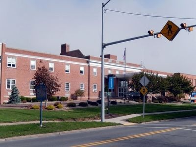 Muncy Marker-Muncy Valley Hospital-front view image. Click for full size.