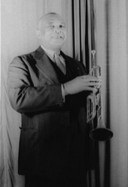 W.C. Handy image. Click for full size.