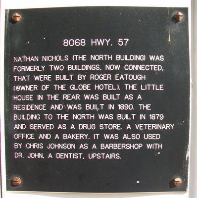 8068 Hwy. 57 Marker image. Click for full size.
