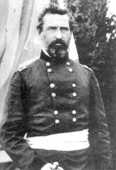 Major General William T.H. Brooks (1821-1870) image. Click for full size.