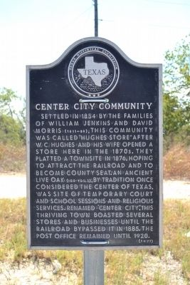 Center City Community Marker image. Click for full size.
