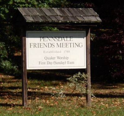 Pennsdale Friends Meeting-Quaker Worship image. Click for full size.