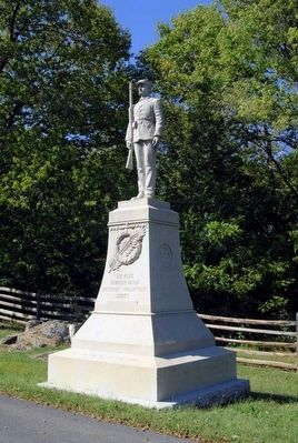 8th Regt. Pennsylvania Reserver Volunteer Corps Monument image. Click for full size.