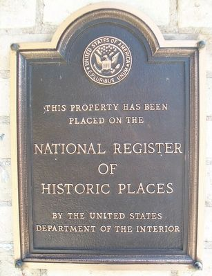110-114 North 3rd Avenue NRHP Marker image. Click for full size.