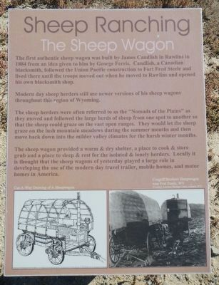 Sheep Ranching Marker image. Click for full size.