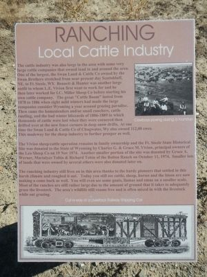 Ranching Marker image. Click for full size.