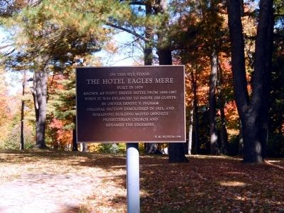 Hotel Eagles Mere Marker image. Click for full size.