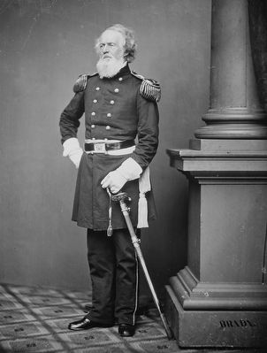 Major General Joseph K.F. Mansfield (1803-1862) image. Click for full size.