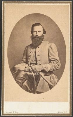 Major General J.E.B. Stuart (1833-1864) image. Click for full size.