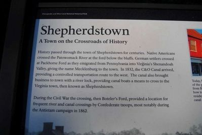 Shepherdstown Marker image. Click for full size.