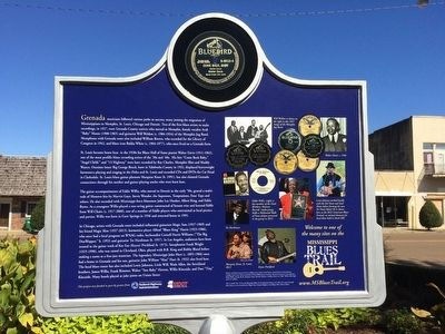 Grenada Blues Marker (Rear) image. Click for full size.