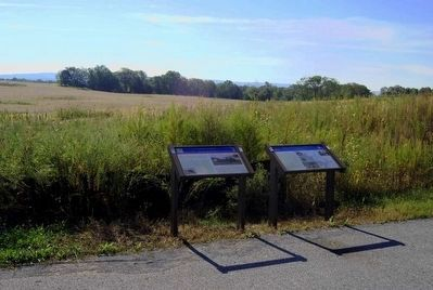 1862 Antietam Campaign Marker (Right) image. Click for full size.