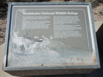 Seedskadee National Wildlife Refuge Marker image. Click for full size.