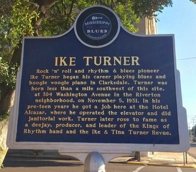 Ike Turner Marker (Front) image. Click for full size.